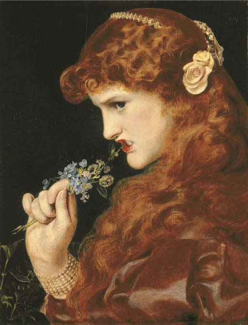 Famous Renassaince Paintings With Girl With Flower In Hair