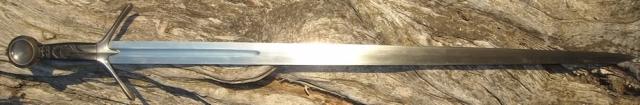 Replica of C15th Scottish sword.