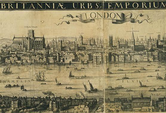 Sixteenth-Century map of London